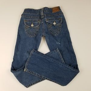 True Religion Becky Flap Pocket Size 25 Flawed